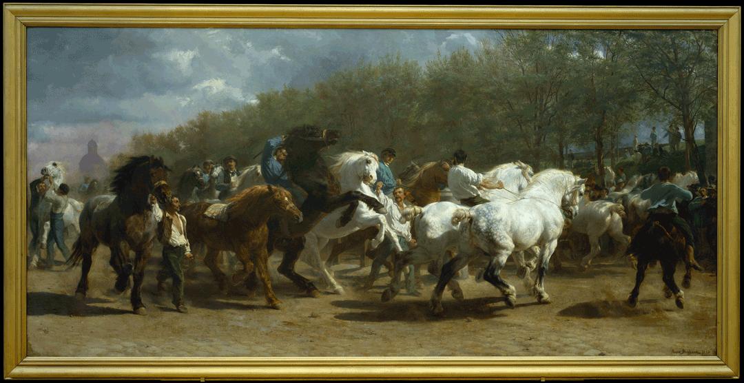 """Rosa Bonheur """"The Horse Fair"""""""